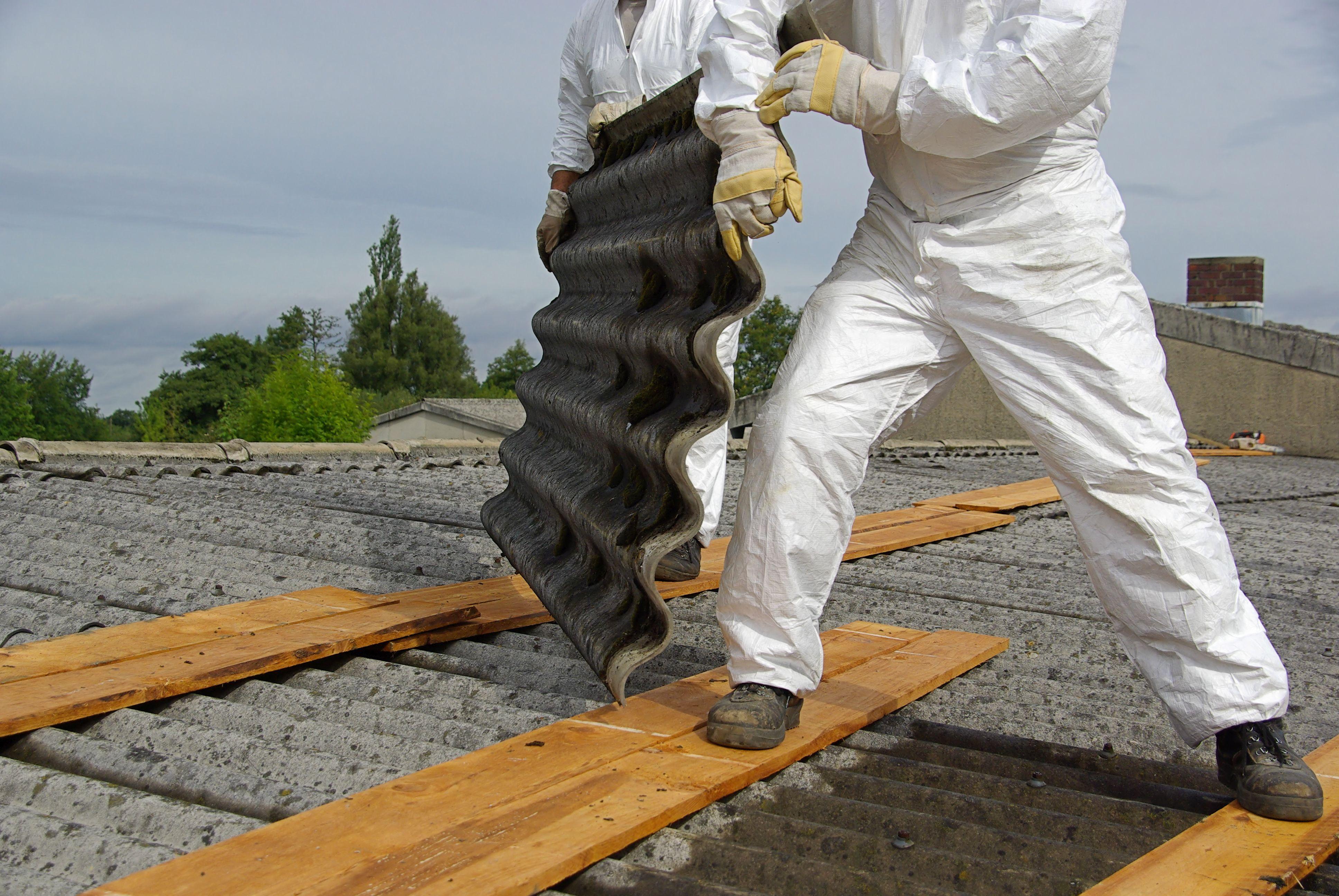 Prächtig Asbest auf dem Dach - das sollten Sie wissen @IL_13