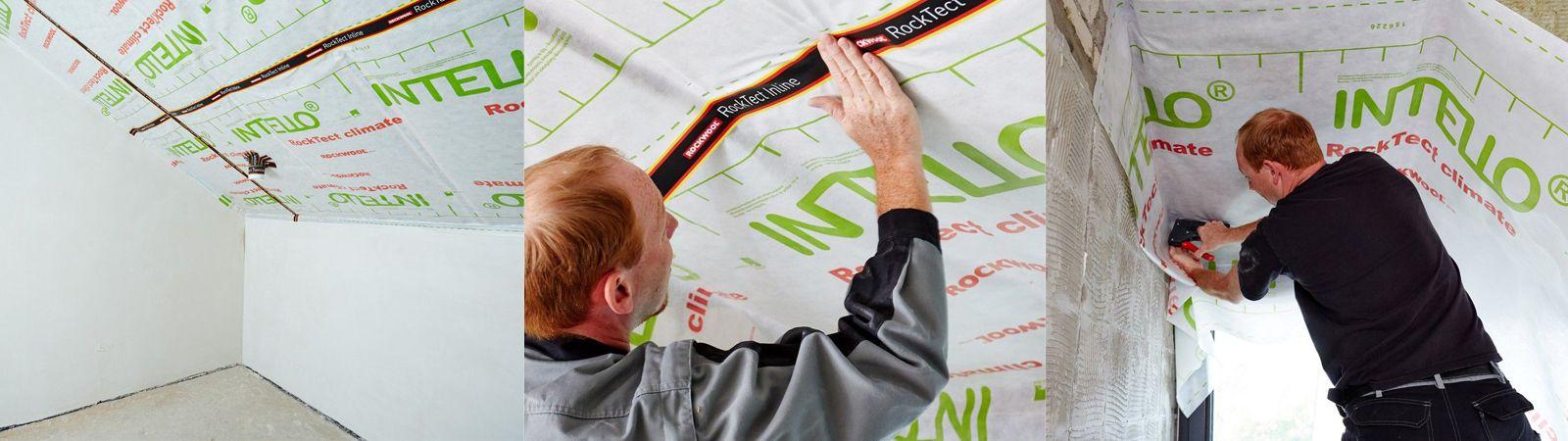 Dampfsperre Feuchtigkeitsschutz Bei Der Dachdammung