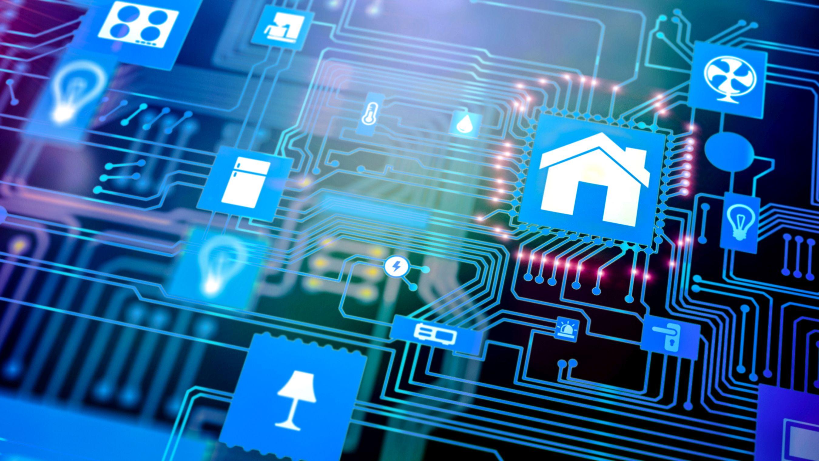 smart home vernetztes zuhause effizienzhaus online. Black Bedroom Furniture Sets. Home Design Ideas