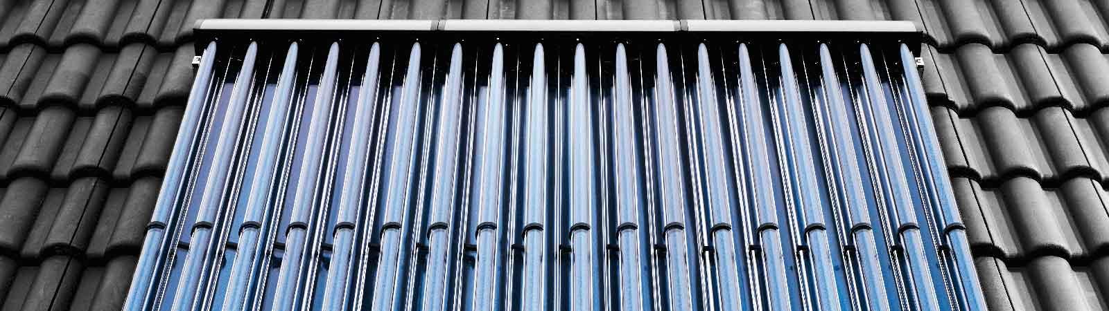 Röhrenkollektoren: Solarthermie mit hoher Effizienz