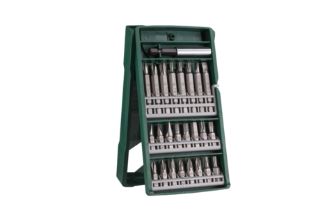25-piece Mini-X-Line screwdriver bit set | Ideally equipped to handle virtually any task: Universal basic set for all standard screwdriving and mounting jobs.