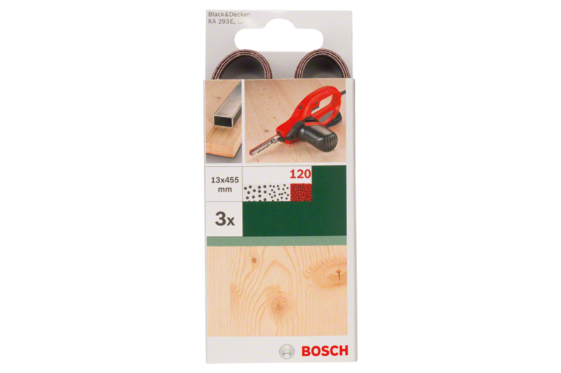 Sanding belts for Black+Decker Powerfile