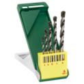 5-piece concrete drill bit set