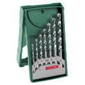 7-piece Mini-X-Line masonry drill bit set
