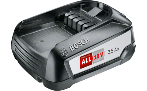 Battery pack PBA 18V 2.5Ah W-B | 18 Volt Lithium-ion System Accessories