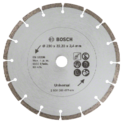Diamond cutting disc for construction material, Ø 230 mm