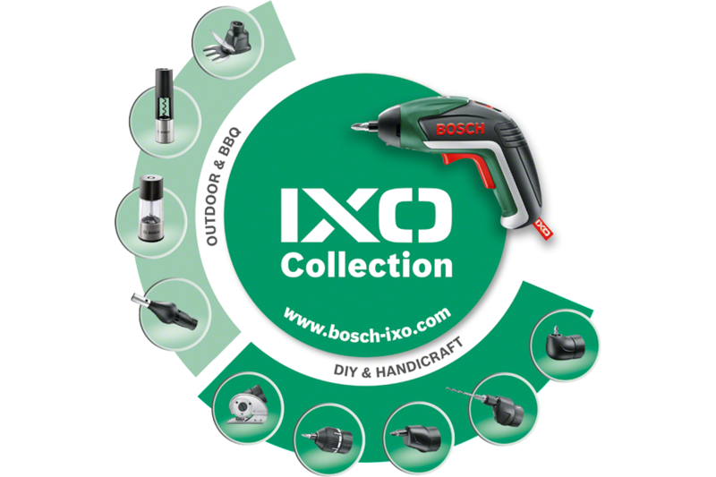IXO Collection – Grass and shrub shear adapter