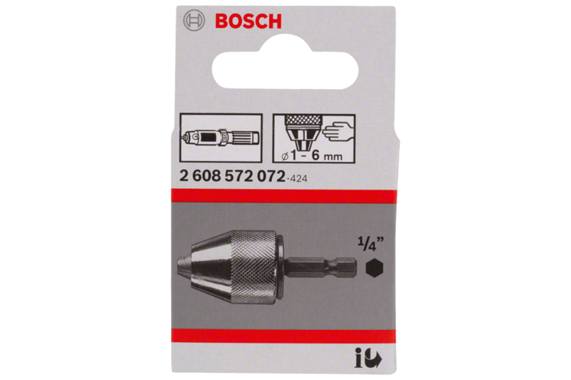 Bosch system chucks for impact drills