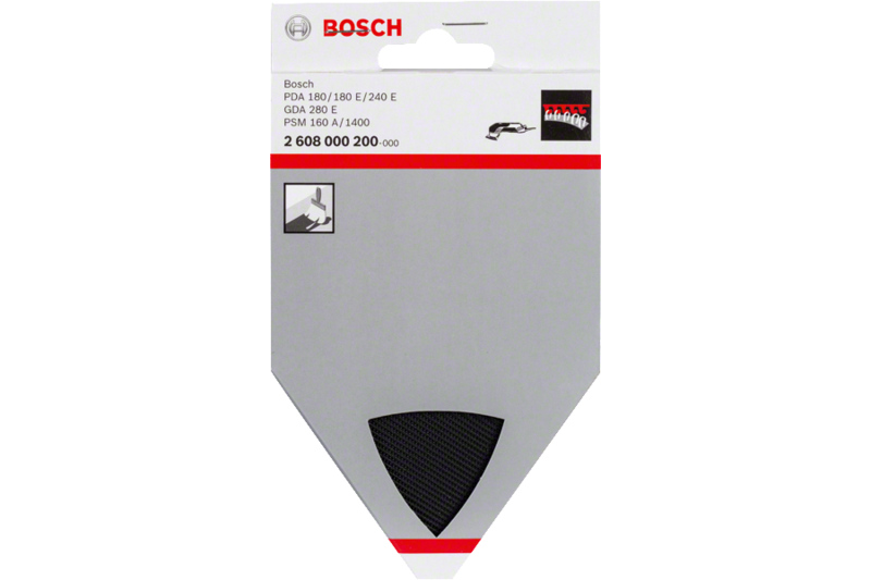 Louvre sanding attachment for Bosch Delta Sanders