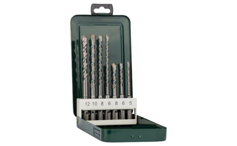 Set de 7 forets pour perforateur SDS-plus |