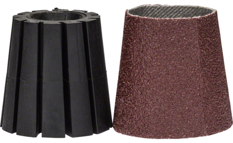 Shank & sanding sleeve (conical) SET | PRR 250 ES System Accessories