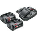 Stareter Set 18 V (2 batteries 2,5 Ah + AL 1830 CV)