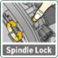 Spindle lock