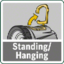Standing/suspended function