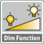 Dimmer function