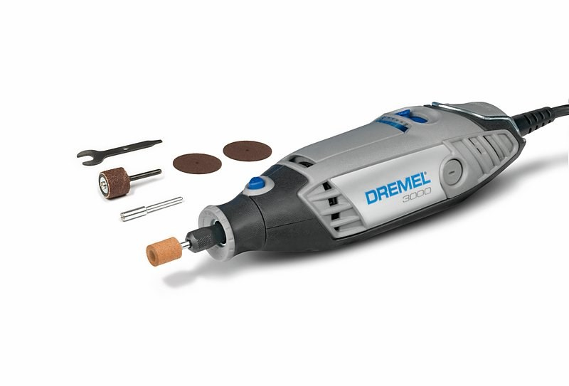 how to change accessories on dremel 3000