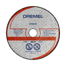 DREMEL® DSM20 Masonry Cutting Wheel (DSM520)