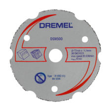DREMEL® DSM20 Multipurpose Carbide Cutting Wheel (DSM500)