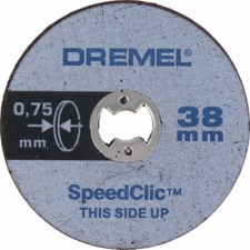 DREMEL® EZ SpeedClic: Thin Cutting Wheels. (SC409)