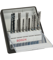 Robust Line 10-piece jigsaw blade sets (single lug shank)
