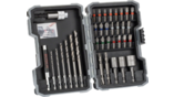 Extra Hard Metal HSS Twist Drill and Screwdriver Bit Sets, 35-Piece