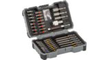 Extra Hard Drill and Screwdriver Bit Sets, 43-Piece