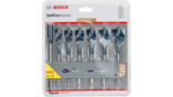 Self-Cut Speed Spade Bit Sets, 7-piece