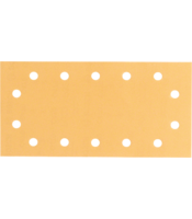 C470 sanding sheets for orbital sanders, Best for Wood and Paint, 115x230 mm, 14 holes