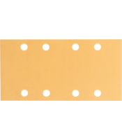 C470 sanding sheets for orbital sanders, Best for Wood and Paint, 93x186 mm, 8 holes