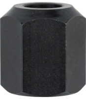 Collet/nut set for Bosch routers