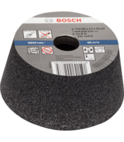 Conical cup wheels – Stone, concrete with synthetic resin bond