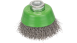 Clean for Inox Wire Cup Brushes, Crimped Wire