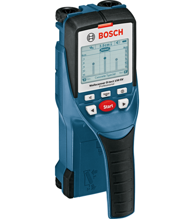 D tect 150 sv wallscanner professional bosch for Bosch scanner mural d tect 150 professional