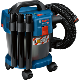 Cordless dust extractors