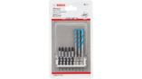 Impact Control Screwdriver Bit Mixed Packs, 8-Piece