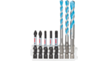 Pick and Clic MultiConstruction Drill and Impact Control Screwdriver Bit Packs