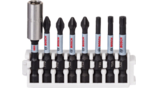 Pick and Click Impact Control Screwdriver Bit and Universal Holder Packs