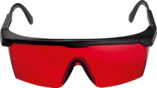 Laser viewing glasses (red) Professional
