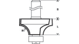 Standard for Wood Rounded Over Bits