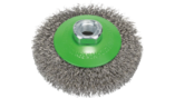 Clean for Inox Tapered Brushes, Crimped Wire