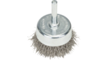 Wire Cup Brushes, Crimped Wire