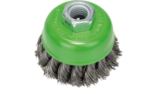 Heavy for Inox Wire Cup Brushes, Knotted Wire