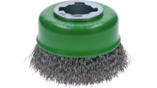 X-LOCK Clean for Inox Cup Brushes, Crimped Wire