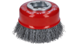 X-LOCK Clean for Metal Cup Brushes, Crimped Wire