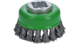 X-LOCK Heavy for Inox Cup Brushes, Knotted Wire
